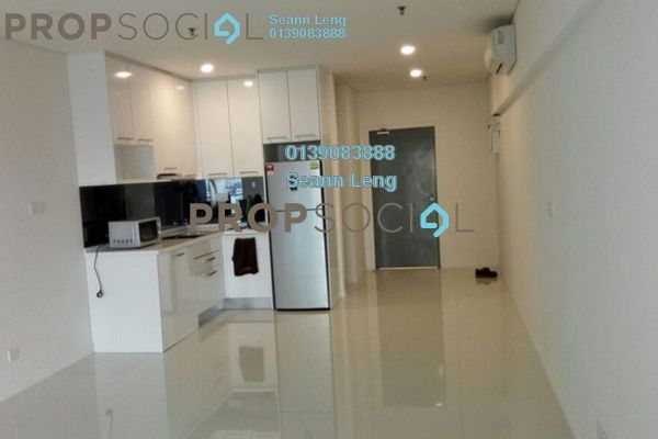 For Rent Condominium at Summer Suites, KLCC Leasehold Semi Furnished 1R/1B 1.85k