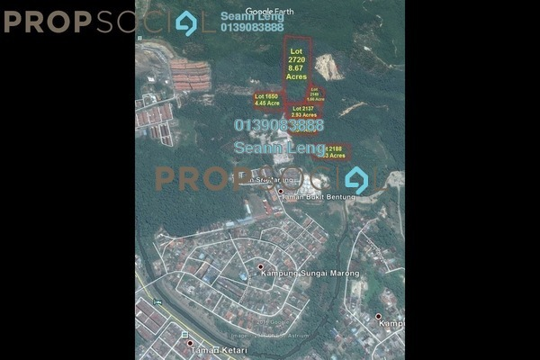 For Sale Land at Bentong Town, Bentong Freehold Unfurnished 0R/0B 5.77m