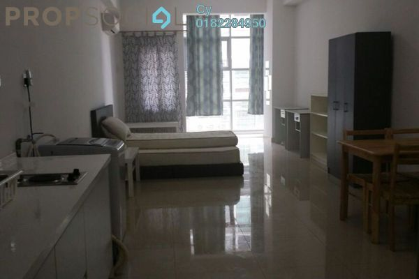 For Rent SoHo/Studio at First Subang, Subang Jaya Freehold Fully Furnished 0R/1B 1.7k
