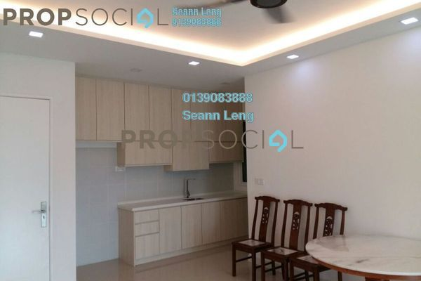For Rent Condominium at Scenaria, Segambut Freehold Semi Furnished 3R/3B 1.8k