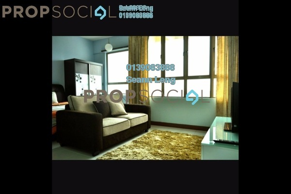 For Rent Condominium at Ritze Perdana 1, Damansara Perdana Leasehold Fully Furnished 1R/1B 1.2k