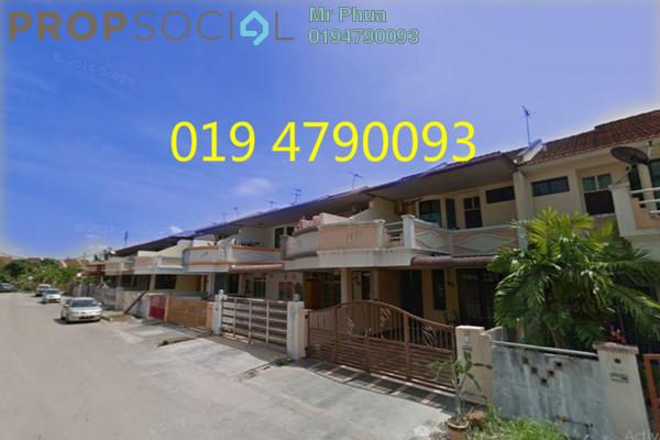 For Rent Terrace at Taman Janggus Jaya, Seberang Jaya Freehold Semi Furnished 4R/3B 1.5k