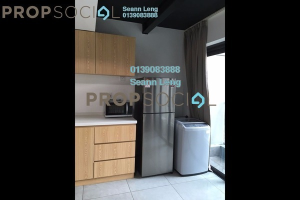 For Rent Duplex at Empire City, Damansara Perdana Leasehold Fully Furnished 1R/2B 1.7k