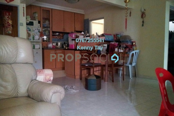 For Rent Apartment at Aman Satu, Kepong Freehold Semi Furnished 3R/2B 1.1k