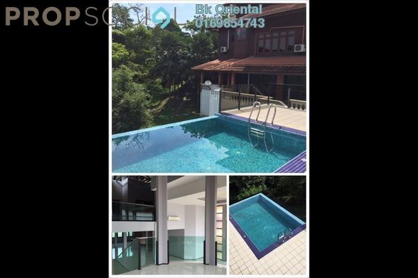 For Rent Bungalow at Damansara Villa, Damansara Heights Freehold Semi Furnished 9R/9B 18k