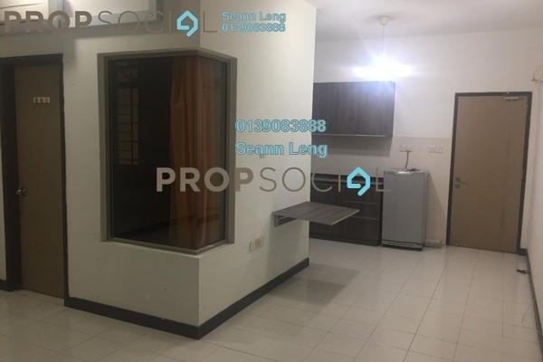 For Rent Condominium at Ritze Perdana 1, Damansara Perdana Leasehold Semi Furnished 1R/1B 1.05k