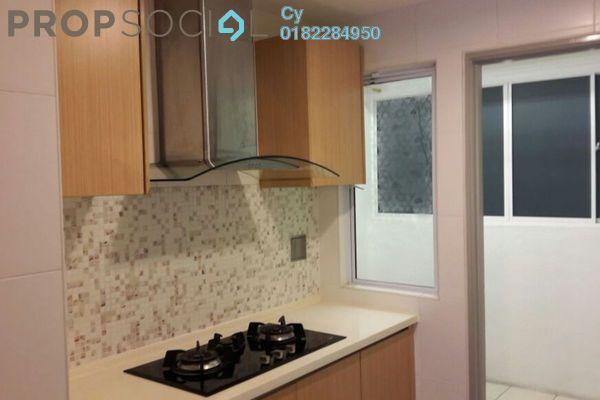 For Rent Condominium at Villa Orkid, Segambut Freehold Semi Furnished 4R/4B 2.5k