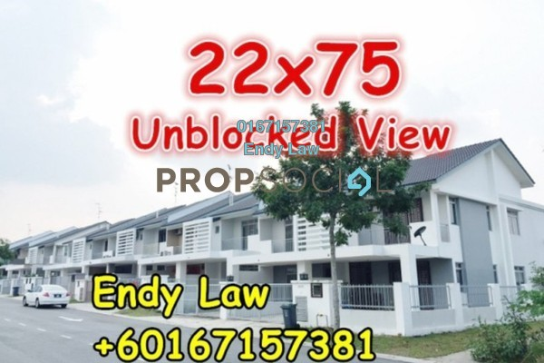 For Sale Terrace at Nusa Idaman, Iskandar Puteri (Nusajaya) Freehold Semi Furnished 4R/3B 660k