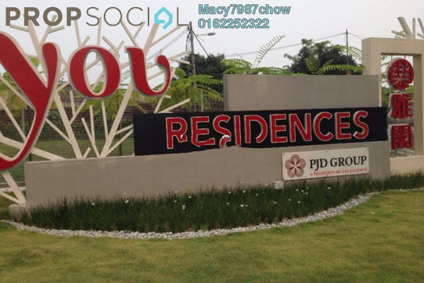 For Rent Condominium at You Residences @ You City, Batu 9 Cheras Freehold Unfurnished 3R/3B 1.6k