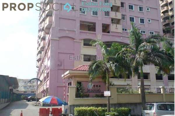 For Sale Apartment at Sri Gotong Apartment, Selayang Leasehold Semi Furnished 3R/2B 268k