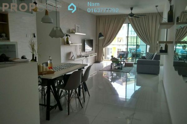 For Rent Apartment at Zeva, Bandar Putra Permai Leasehold Fully Furnished 2R/2B 2.5k