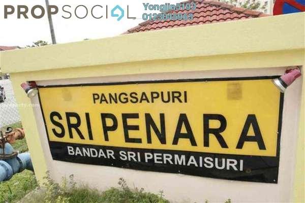 For Rent Apartment at Sri Penara, Bandar Sri Permaisuri Leasehold Semi Furnished 3R/2B 1k