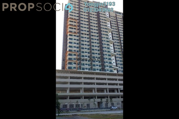 For Rent Apartment at Dex @ Kiara East, Jalan Ipoh Leasehold Fully Furnished 2R/1B 2k