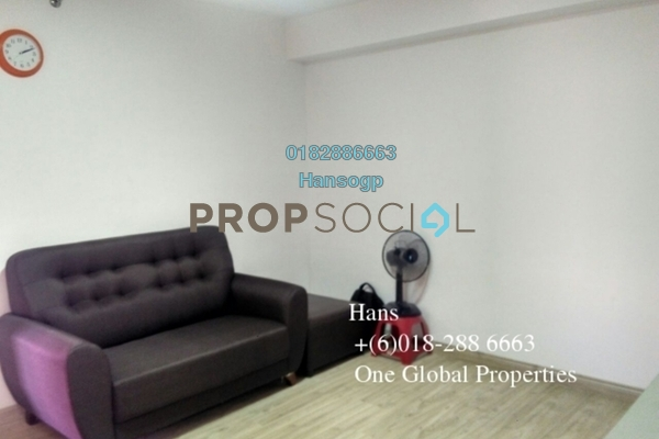 For Rent Condominium at Empire City, Damansara Perdana Leasehold Fully Furnished 0R/1B 1.2k