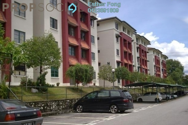 For Rent Apartment at SD Apartment II, Bandar Sri Damansara Freehold Semi Furnished 3R/1B 900translationmissing:en.pricing.unit