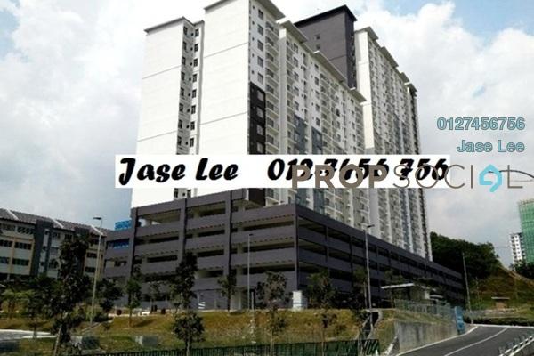 For Rent Apartment at Saujana Permai Apartment, Kajang Freehold Semi Furnished 3R/2B 800translationmissing:en.pricing.unit