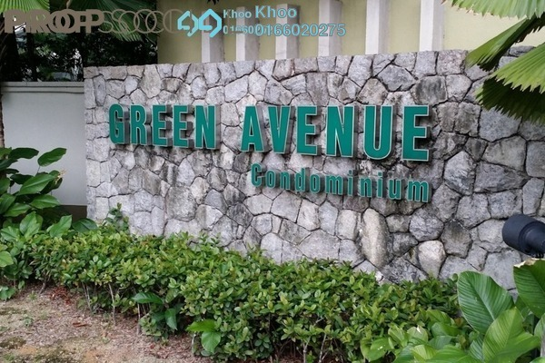 For Sale Condominium at Green Avenue, Bukit Jalil Freehold Fully Furnished 3R/2B 500k