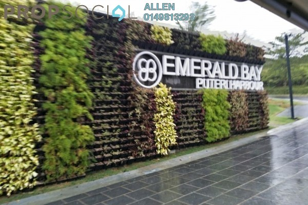 For Rent Semi-Detached at Emerald Park, Teluk Kumbar Freehold Semi Furnished 4R/5B 10k