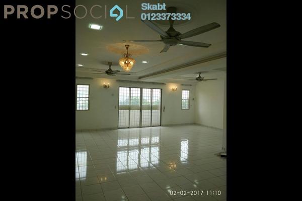 For Rent Condominium at Endah Ria, Sri Petaling Leasehold Semi Furnished 4R/2B 1.7k