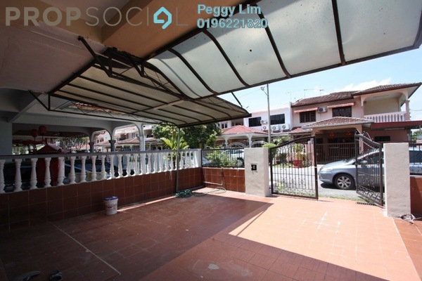 For Rent Terrace at Taman Teluk Pulai, Klang Freehold Semi Furnished 4R/3B 1.2k