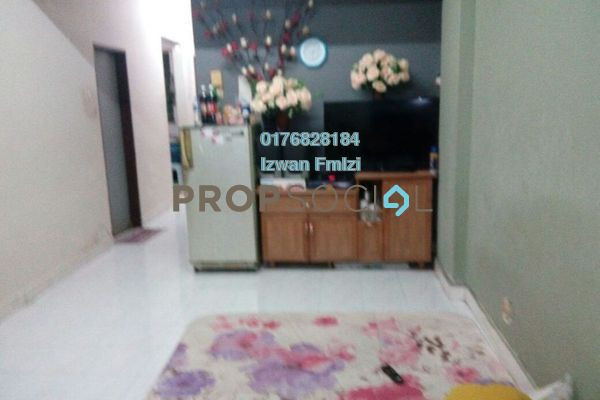 For Sale Apartment at Taman Setia Balakong, Balakong Freehold Semi Furnished 3R/2B 250k