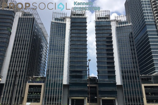 For Rent Office at The Pillars @ KL Eco City, Mid Valley City Leasehold Unfurnished 0R/0B 24.1k