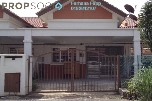 For Sale Terrace at Taman Seri Alam, Sungai Buloh Freehold Unfurnished 4R/2B 360k
