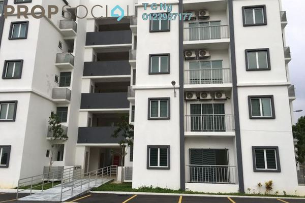 For Rent Apartment at Impian Titanium, Puchong Freehold Unfurnished 3R/2B 1.05k
