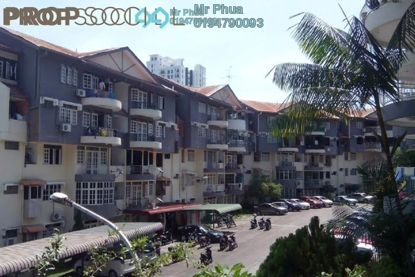 For Sale Apartment at Mutiara Perdana 1, Sungai Ara Freehold Semi Furnished 3R/3B 350k