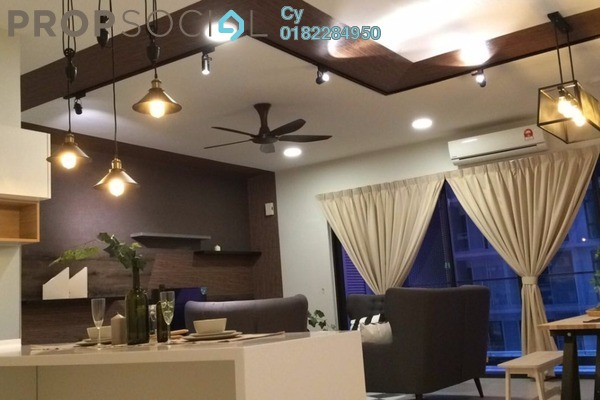 For Rent Condominium at Verde, Ara Damansara Freehold Fully Furnished 3R/2B 3k
