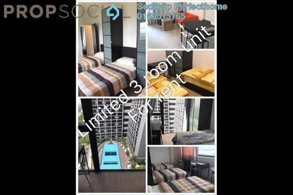 For Rent Serviced Residence at D'Latour, Bandar Sunway Leasehold Fully Furnished 3R/3B 4.2k