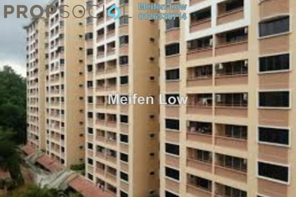 For Rent Condominium at Putra Villa, Gombak Freehold Semi Furnished 3R/2B 1.9k