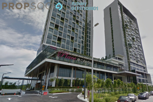 For Rent Condominium at The Place, Cyberjaya Freehold Fully Furnished 2R/1B 1.2k