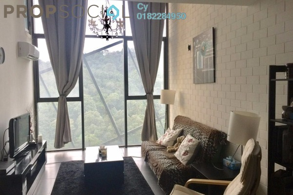 For Rent Duplex at Empire Damansara, Damansara Perdana Leasehold Fully Furnished 0R/1B 1.8k