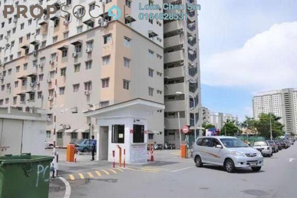 For Rent Apartment at Desa Pinang, Gelugor Freehold Fully Furnished 3R/2B 1.2k