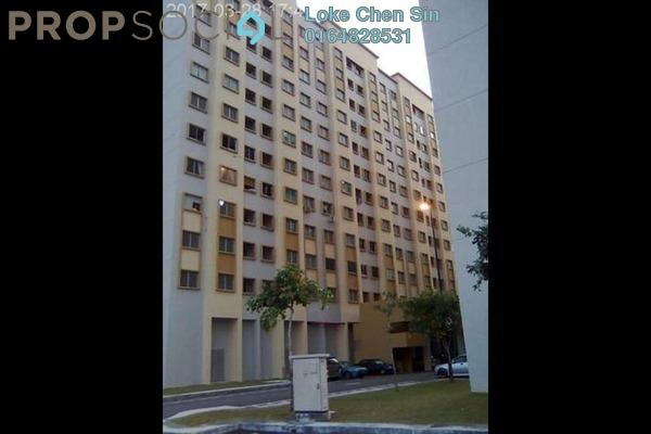 For Rent Apartment at Palm Court, Seri Tanjung Pinang Freehold Fully Furnished 3R/2B 1k