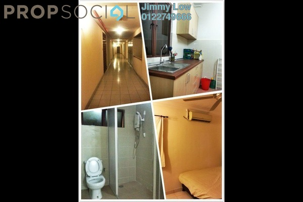 For Rent Condominium at Palm Spring, Kota Damansara Leasehold Semi Furnished 2R/2B 1.2k