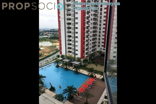 For Rent Condominium at Main Place Residence, UEP Subang Jaya Freehold Semi Furnished 2R/1B 1.4k