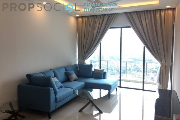 For Rent Condominium at Setia Sky Residences, KLCC Freehold Fully Furnished 2R/2B 4.5k