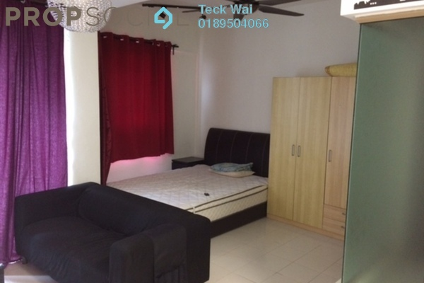 For Rent SoHo/Studio at Ritze Perdana 1, Damansara Perdana Leasehold Fully Furnished 0R/1B 1.3k