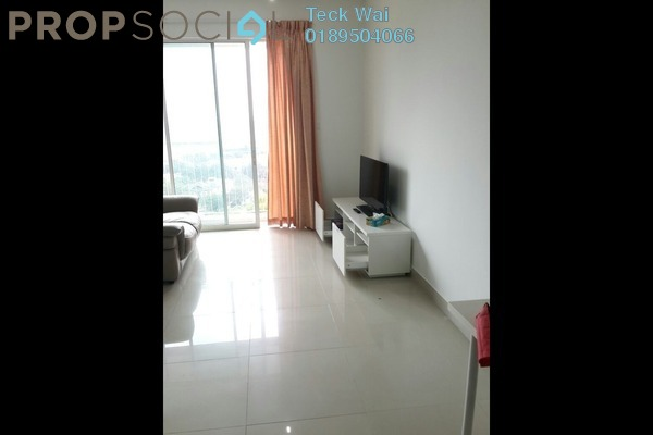 For Rent SoHo/Studio at Ritze Perdana 2, Damansara Perdana Leasehold Fully Furnished 0R/1B 1.35k