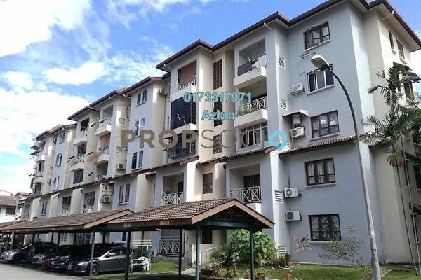 For Rent Apartment at Sri Ayu, Setiawangsa Freehold Fully Furnished 3R/2B 2k