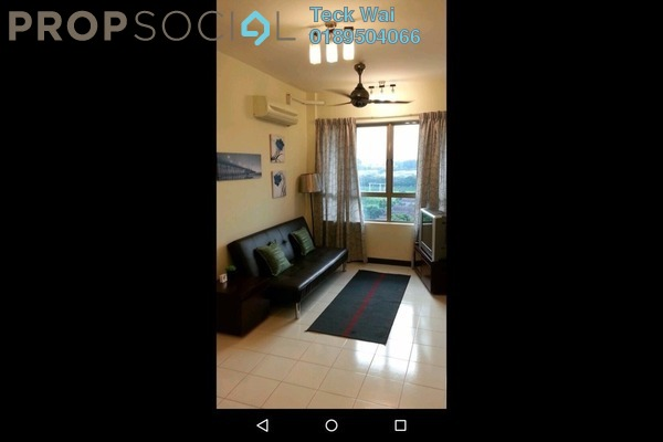For Rent SoHo/Studio at Ritze Perdana 2, Damansara Perdana Leasehold Fully Furnished 0R/1B 1.3k