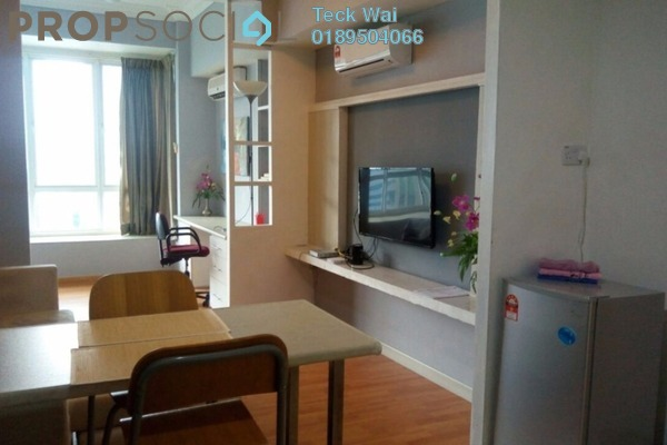For Rent SoHo/Studio at Park View, KLCC Freehold Fully Furnished 0R/1B 2.3k