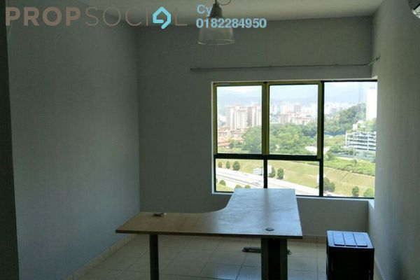 For Rent Condominium at Changkat View, Dutamas Freehold Semi Furnished 3R/2B 1.65k