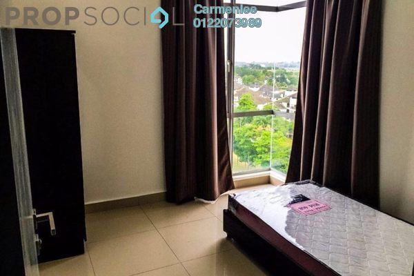 For Rent Condominium at Lakeview Residency, Cyberjaya Freehold Semi Furnished 3R/2B 1.8k