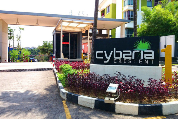 For Rent Condominium at Cyberia Crescent 1, Cyberjaya Freehold Unfurnished 3R/2B 1.4k