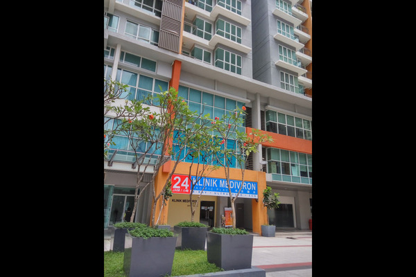 For Rent Condominium at Pacific Place, Ara Damansara Leasehold Semi Furnished 2R/2B 1.4k