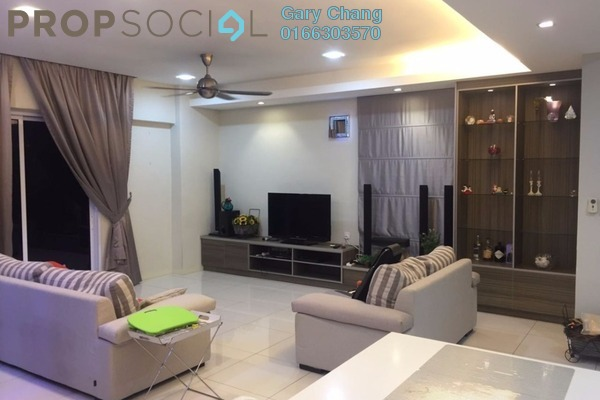 For Rent Condominium at Villa Orkid, Segambut Freehold Fully Furnished 3R/3B 3.5k