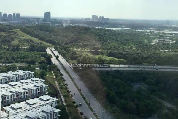 For Rent Condominium at Garden Plaza @ Garden Residence, Cyberjaya Freehold Fully Furnished 2R/2B 1.7k